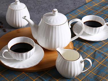 金边竖纹茶咖具manbetx登陆