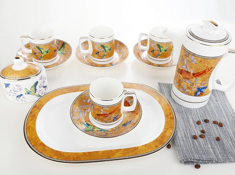 爱丁堡15头咖啡具